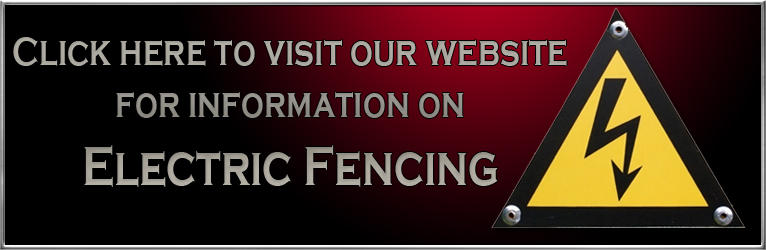 Visit our Website for Electric Fencing